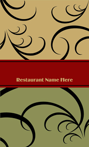 Professionally Designed Restaurant Menu Templates